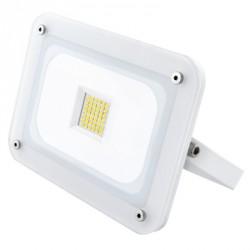 Projetor LED Branco - 30W - Luz Fria
