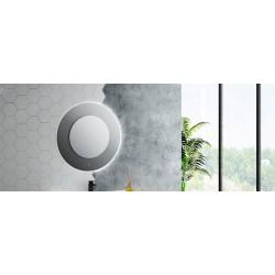 Espelho ORIÓN Led circular com sensor tátil