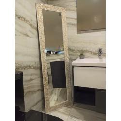 Espelho Dourado Retangular 170x50 cm