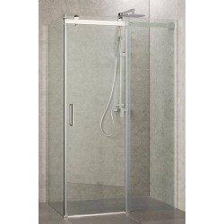 Cabine de Duche 100x70 cm Vidro Transparente
