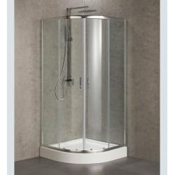 Cabine de duche Semicircular 90CM