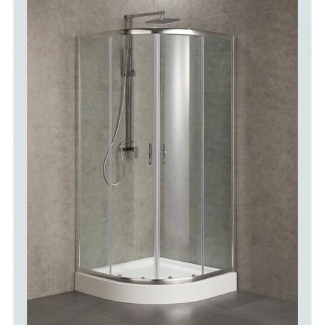 Cabine de duche Semicircular